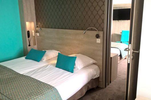 Les chambres de l 39 h tel h tel alo for Chambre communicante hotel