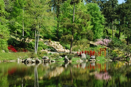 Le parc oriental de maul vrier un jardin remarquable for Jardin oriental