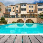 La piscine de l'hôtel Aloé