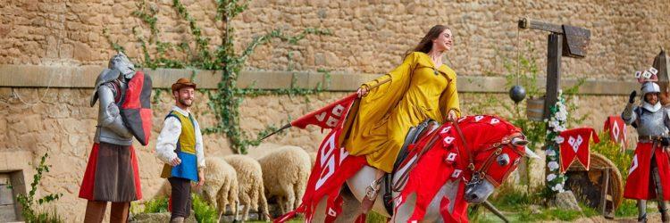 L'attraction inspirée par Jeanne d'arc