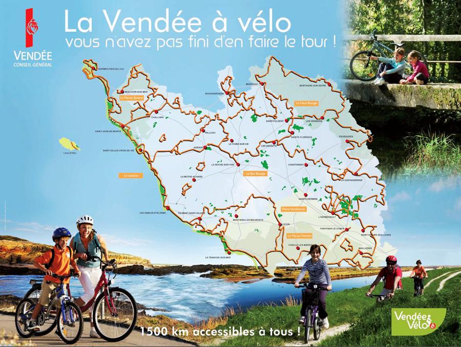 Le Vendée à vélo, balades et tourisme