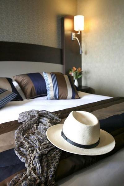 Nos chambres modernes vous accueillent pour l'été