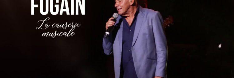 Michel Fugain aux Herbiers le 20 novembre 2018