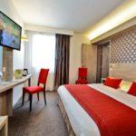 chambre double hotel aloé