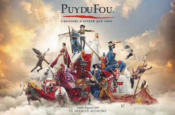 L'ouverture du Puy du Fou en 2019