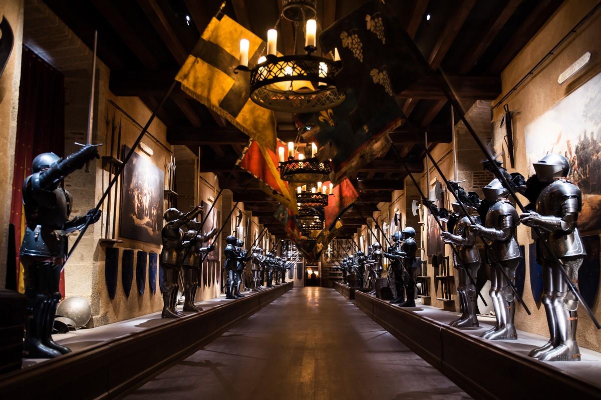 Visiter le château du puy du fou